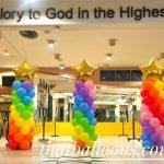 Rainbow Pillars Balloon Decorations