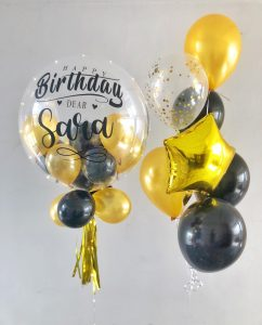 Personalise balloons