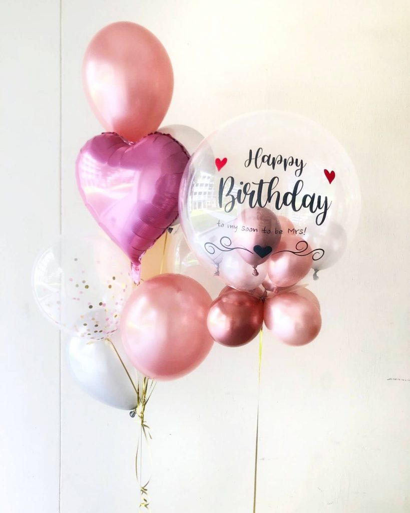 Personalised Balloon delivery