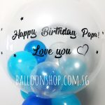 Singapore balloons for birthday