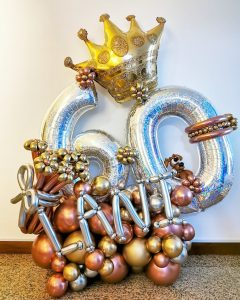 Balloon Foil Number Decorations Singapore
