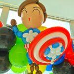 Captain America Balloon decoration