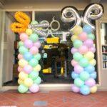 Customizable balloon columns