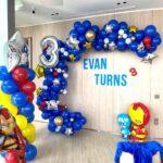 Superhero Balloon Decoations 1
