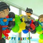 Superhero Balloon decorations 1