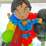 Superman balloon secoration for party