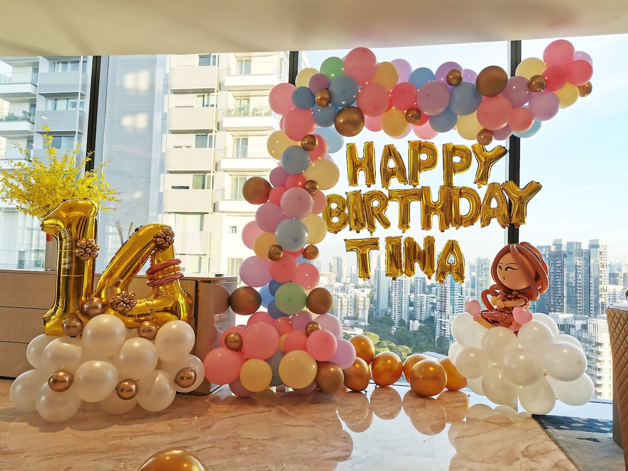Balloon Decorations for Birthday Party Singapore