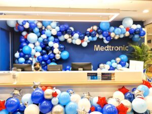 Corporate Organic Balloon Garland Decorations
