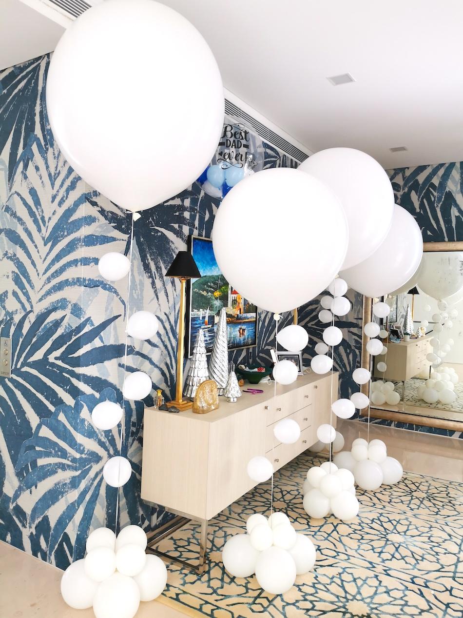 Helium balloon styling