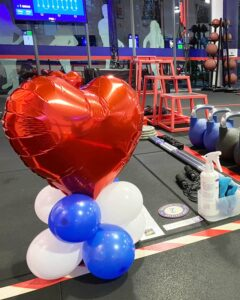 Balloon Heart Decoration for F45