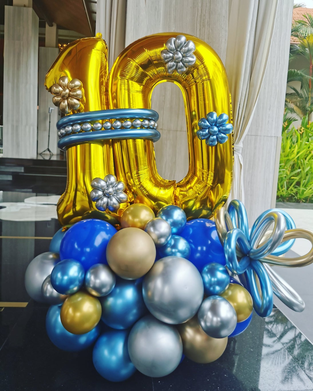 Balloon Number Display Deocration Delivery Singapore