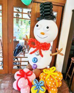 Balloon Snowman Deocrations Singapore