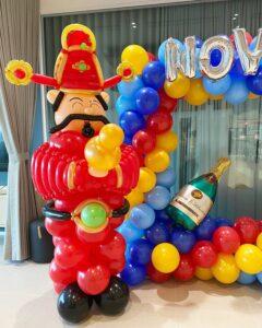 God of Fortune Balloon Sculpture Decor