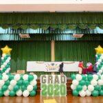 Graduation Day Balloon Decoration