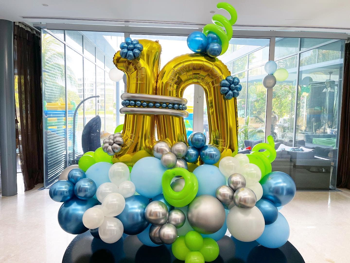 Balloon Number Display Delivery Singapore