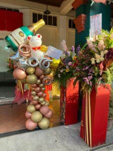 Balloon Stand Display Decoration Singapore