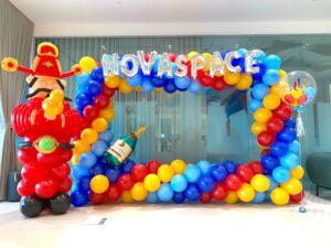 CNY Balloon Photoframe Decoration