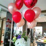 Heart Shape Balloon Bundle Delivery