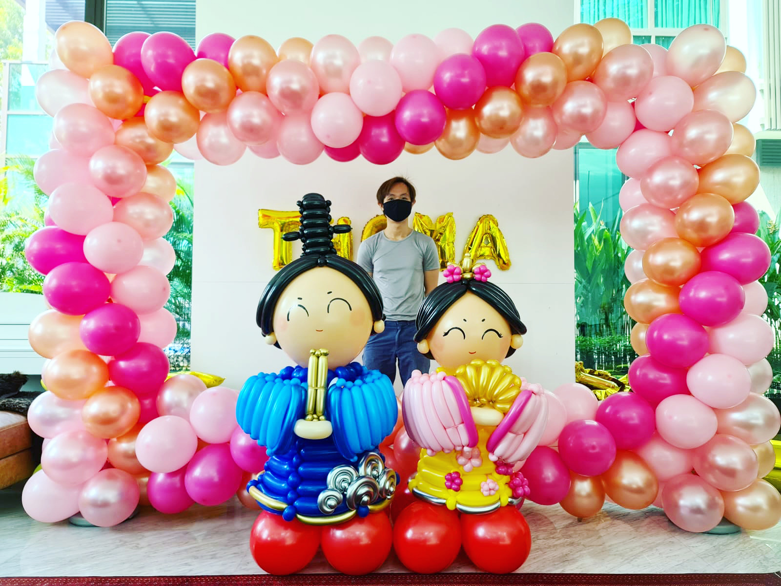 Japanese Balloon Photoframe Deocrations in Singapore