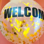 Large Confetti Helium Balloon Delivery