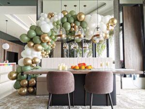 Organic Balloon Decor for Birthday Party Singapore