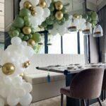 Organic Balloon Garland Decoration
