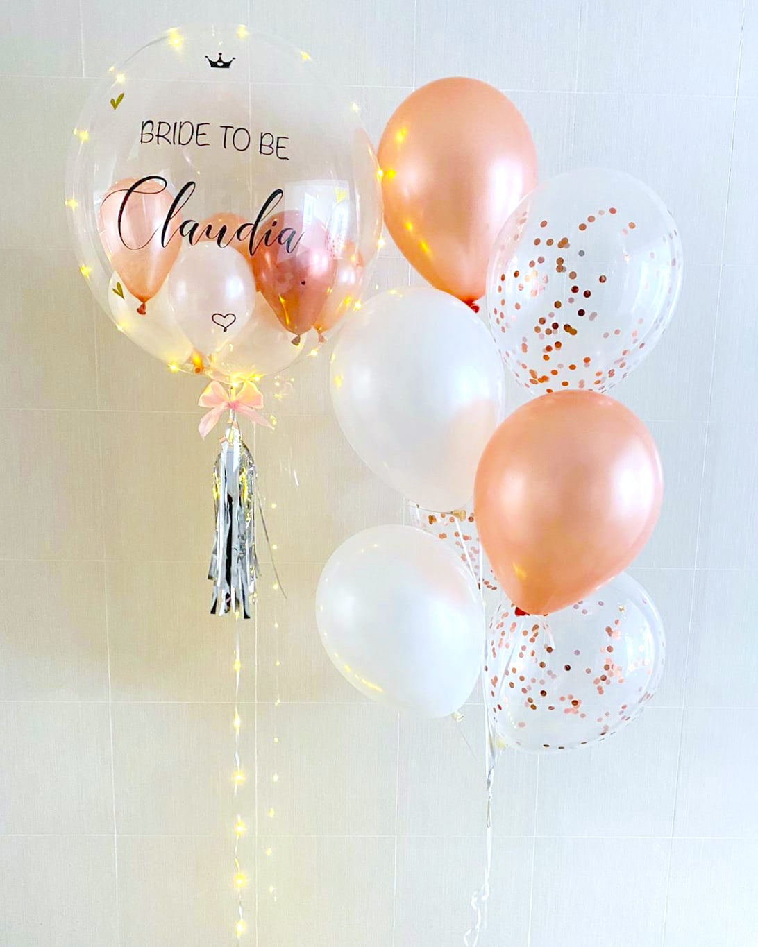 Personalised Helium Balloon Delivery Singapore