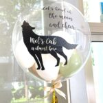 Personalised Helium Bubble Balloon delivery