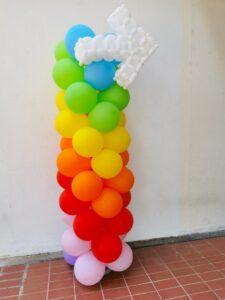 Balloon Columns Signage