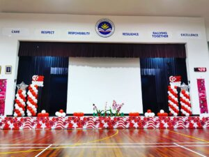 National Day Balloon Pillars