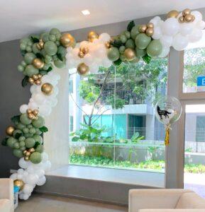 Organic Balloon Garland Decor Singapore