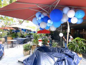 Outdoor Organic Balloon Decor
