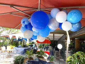 Outdoor Organic Balloon Decoration