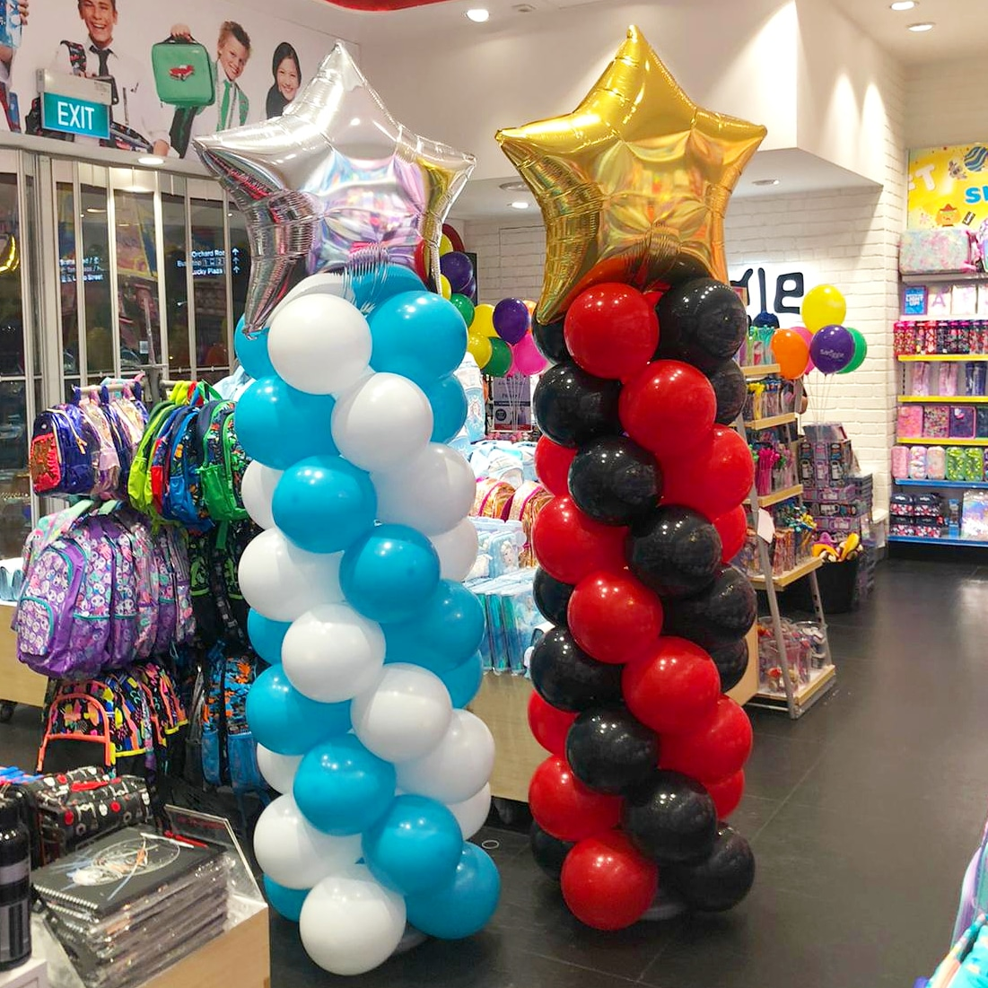 Simple Balloon Columns for Sale