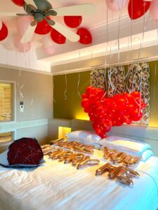 Balloon Proposal Room Styling Decoration