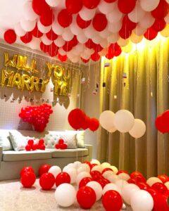 Balloon Room Styling Decoration Singapore