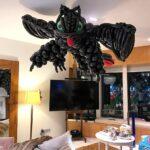 Balloon Toothless Dragon Sculpture