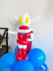 Customised Ultraman Balloon Sculpture Singapore