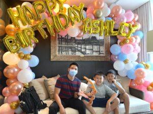 Happy Birthday Balloon Decoration Singapore