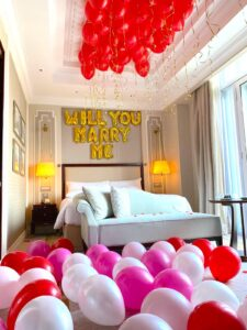 Hotel Room Styling Balloon Decor Singapore