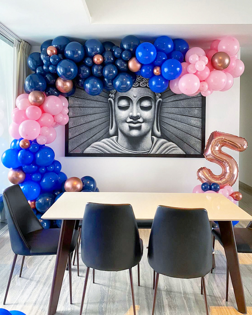 Organic Balloon Decoration for Party