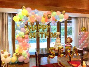 Pastel Balloon Decorations Singapore