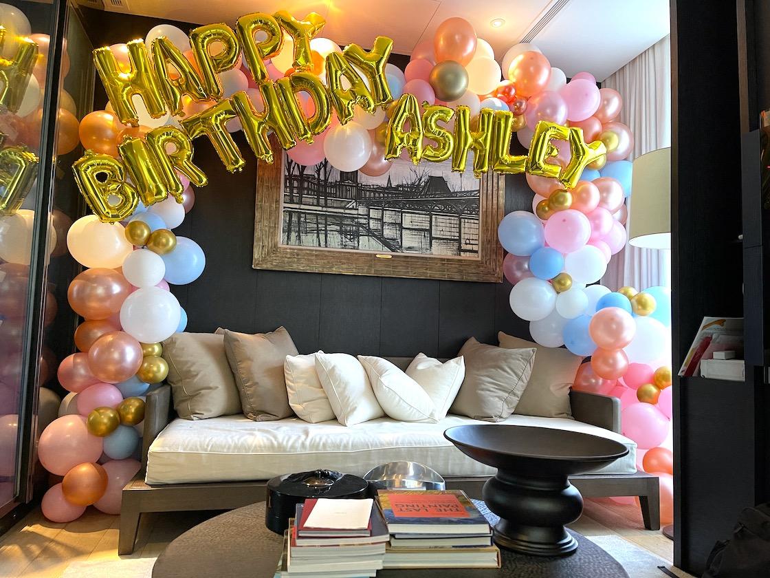 Premium Organic Birthday Balloon Decoration