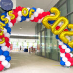 Sprial Balloon Arch Decoration for hire Singapore