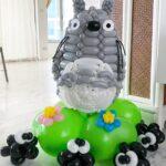 Totoro Balloon Sculpture Decoration