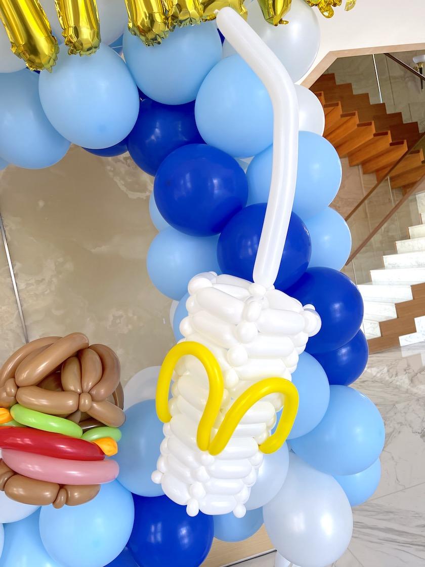 Balloon Soft Drink Cup Sculpture Decoration
