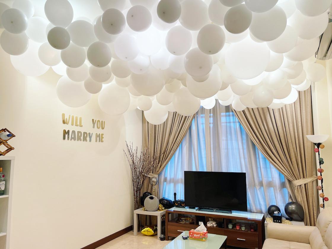 Cloud Balloon Decorations Singapore