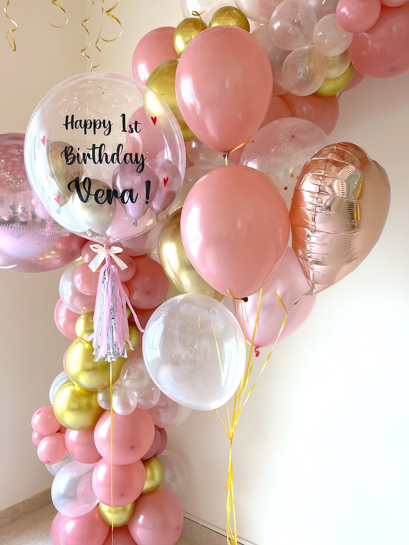 Personalised Bubble Helium Balloon Delivery
