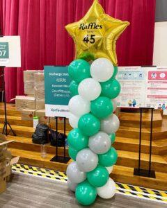 Balloon Star Pillar Singapore