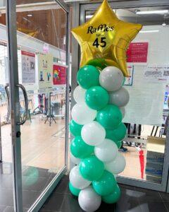 Cheap Balloon Pillar Singapore